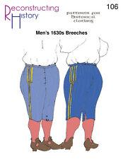 Schnittmuster RH 106 Paper Pattern 1630s Breeches