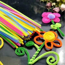 100pcs DIY Handmade Educational Shilly Stick Plush Materials Toys For kids UL