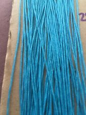 Macrame Waxed Cord Thread Bracelet Making Friendship Craft Jewelry Blue Aqua 20m