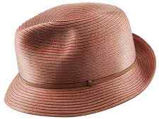 MAKINS HATS Trilby M 57cm 7 1/8 Hand Crafted Silk Fedora Non Crushable