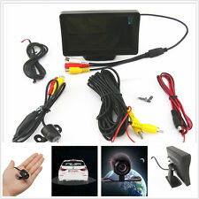 "4.3"" LCD Car Mirror Monitor Display Screen + 170° Parking Camera Kits Universal"
