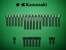 Kawasaki KL250 KL 250cc Engine Cover SS Stainless Allen Screw Kit UK FREEPOST