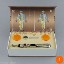 Electronic Acupuncture Meridian Energy Massage Pen Auto Probe Point Therapy