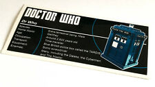 Lego Creator UCS Sticker for Dr Who 21304