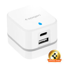 Spigen® [F202C] Travel Adapter USB Type C Wall Charger 2port For Universal Phone