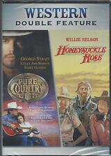 PURE COUNTRY/HONEYSUCKLE ROSE DOUBLE FEATURE George Strait Willie Nelson DVD