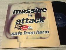 "MASSIVE ATTACK - SAFE FROM HARM 12"" MAXI UK WILD BUNCH 91 - TRIP HOP"