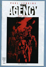 The Agency Preview #1 2001 Gold Foil Kyle Hotz Top Cow Comics