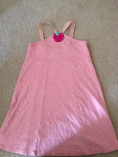 GYMBOREE~CANDY APPLE PINK POLKA DOT DRESS~sz. 6