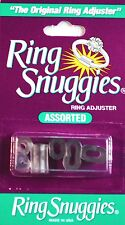 TWIN  PACK Ring Snuggies -Size Adjusters Snug Fit-Pack of-6 Assorted Sizes.