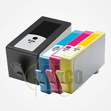 4 HP 920XL BK 920XL C 920XL M 920XL Y HIGH YIELD WITH CHIP Ink Cartridge HP 920
