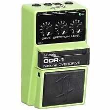 Nobels Electronics ODR-1 Natural Overdrive Guitar Effects Pedal + Spectrum