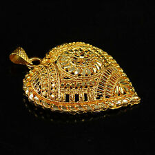Indian Traditional 18K Goldplated Ethnic Chain Pendant Charming Women Jewelry