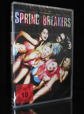 DVD SPRING BREAKERS - FSK 18 - ROAD-MOVIE - JAMES FRANCO + SELENA GOMEZ * NEU *