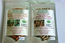Organic Ginger 500mg + Turmeric & Black Pepper 500mg Combo Pack 120 Veg Caps Bio