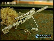 1/6 TAC-50 Desert Camo LRSW Sniper Rifle Figure Accessories Toy Weapon Model