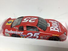 #25 Budweiser High Feature Monte Carlo 1/18 Scale Diecast Car NASCAR By ERTL