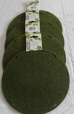 WINE BOTTLE NET CARRIER BELLA VITA (4) GIFT PACKAGING OLIVE GREEN (4)