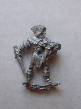 Games Workshop Warhammer Armies Wood Elf Command Group Musician 1987 OOP
