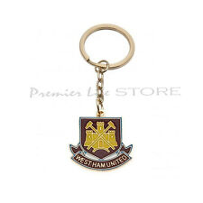 West Ham Metal Crest Keyring