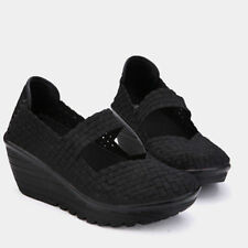 Shape Ups Walking Fitness Toning Shoes Platform Wedge Sneakers Creeper Shoes