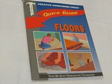CHP Creative homeowner press quick guide book floors do it your self step by