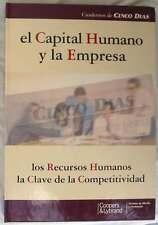 EL CAPITAL HUMANO Y LA EMPRESA - LOS RECURSOS HUMANOS CLAVE DE LA COMPETITIVIDAD