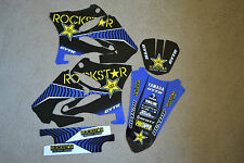 TEAM  ROCKSTAR GRAPHICS YAMAHA YZ125 YZ250 02 03 04 05 06 07 08 09 10 11 12 13