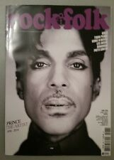 PRINCE Rock & Folk French Magazine TRIBUTE ISSUE 16 page feature