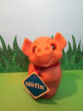 "1988 DAM THINGS EURO PIGGY BANK WITH NORFIN HANG TAG  - 6"" Dam NorfinTroll Doll"