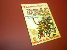 THE BEST OF DRAG CARTOONS magazine #4 1970 car toons racing dragsters