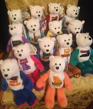 14 - Collectible 50 States of America Limited Treasures Coin Bears New w/wo tags