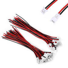 20Pairs x Micro JST 1.25 2-Pin Male Female Connector plug with Wires Cables