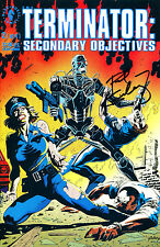 THE TERMINATOR #2 SECONDARY OBJECTIVES SIGNED BY ARTIST PAUL GULACY