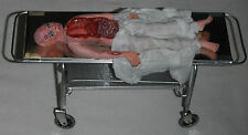 Doll miniature handcrafted Medical Hospital Asylum Morgue Autopsy body 1/12th