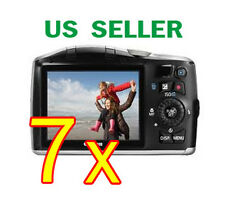 7x Canon PowerShot SX150 IS Clear LCD Screen Protector Guard Shield Film