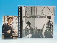 CD+Photo card SUPER JUNIOR D&E JAPAN SKELETON Donghae Eunhyuk