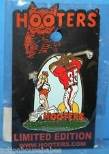 HOOTERS GOLF TOURNAMENT SACRAMENTO CA 2008 FOOTBALL PLAYER SEXY GIRL CADDY PIN