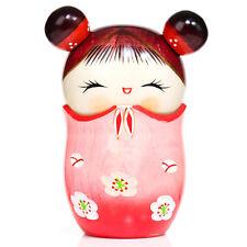 Memory Pink Trinket Box Kokeshi Doll