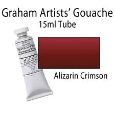 M. Graham Artists' Gouache Alizarin Crimson  15ml Tube 36-010