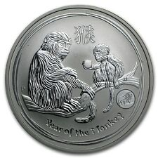 Lunar II Jahr des Affen Year of the monkey 1 oz 999 Feinsilber Perth Mint Privy