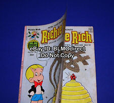 Rare 1977 Richie Rich #156 Double Cover Manufacturing Error 1st Print Harvey