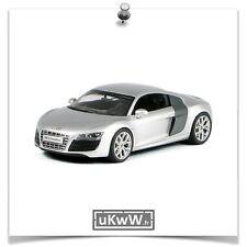Schuco 1/43 - Audi R8 V10 2009 argent/carbone