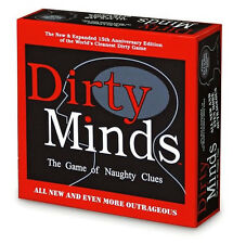 DIRTY MINDS The Game of Naughty Clues full size brand new sealed