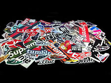 10 RANDOM STICKERS SUPREME BOX LOGO STUSSY OBEY DIAMOND YEEZY BAPE DOPE FK TRUMP
