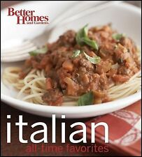 Better Homes and Gardens Best Italian Recipes (BN) (Better Homes & Gardens Cooki