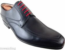 CALZOLERIA ZENOBI LACED SHOES OXFORDS EU 42 ITALIAN DESIGNER MENS SHOES