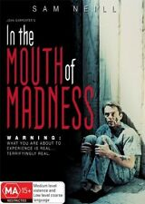In the Mouth of Madness, Horror, Sam Neil (DVD, 2008, Region 4, New & Sealed) c1
