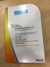 Microsoft Office Small Business Edition 2007 INGLESE-NUOVO di zecca. Inc.. PRO TRIAL