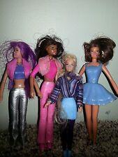 Barbie Doll Small/Mini ~ 4 Dolls ~ 2001 & 1999 ~ McDonalds Happy Meal J20